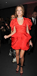 NATALIA VODIANOVA at The Love Ball hosted by Natalia Vodianova and Lucy Yeomans to raise funds for The Naked Heart Foundation held at The Round House, Chalk Farm, London on 23rd February 2010.
