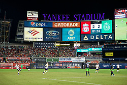 NEW YORK, NEW YORK, USA - Wednesday, July 24, 2019: A general view during a friendly match between Liverpool FC and Sporting Clube de Portugal at the Yankee Stadium on day nine of the club's pre-season tour of America. (Pic by David Rawcliffe/Propaganda)