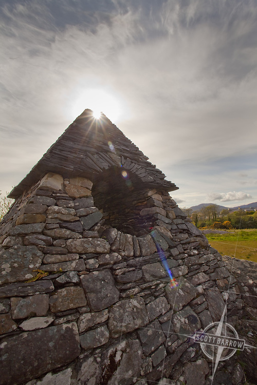 """Sculpture park in Sneem, """"The Way the Fairies Went"""". James Scanlon sculptor from Kerry."""