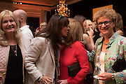 DEBBIE MOORE;  GAIL REBUCK; JENNIFER ROSENBURG; SOPHIE MIRMAN, , The Veuve Clicquot Business Woman Award. Claridge's Ballroom. London W1. 11 May 2015.