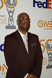 March 9, 2019 - Los Angeles, CA, USA - LOS ANGELES - MAR 9:  Patrick Joseph Charles at the 50th NAACP Image Awards Nominees Luncheon at the Loews Hollywood Hotel on March 9, 2019 in Los Angeles, CA (Credit Image: © Kay Blake/ZUMA Wire)