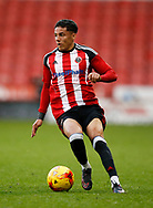 Tyler Smith of Sheffield Utd during the U18 Professional Development League 2 play off semi final match at  Bramall Lane, Sheffield. Picture date: April 21st 2017. Pic credit should read: Simon Bellis/Sportimage