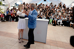 Mel Gibson, Erin Moriarty attending Blood Father photocall at the Palais Des Festivals in Cannes, France on May 21, 2016, as part of the 69th Cannes Film Festival. Photo by Lionel Hahn/ABACAPRESS.COM