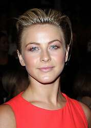Julianne Hough at the Carolina Herrera show  at  New York Fashion Week, Monday, 10th  September 2012. Photo by: Stephen Lock / i-Images