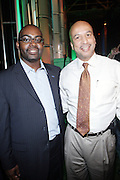 l to r: Earl Lucas and Mayor Ray Nagin at The Essence Music Festival Community Outreach Program held at The Ernest Morial Convention Center on July 2, 2009 in New Orleans, Louisiana