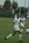 2007 Miami Hurricanes Women's Soccer vs North Carolina