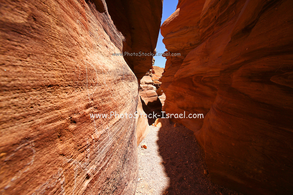 The Red Canyon near Eilat, Israel