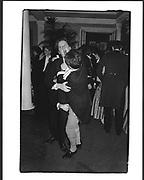 Simon Sebag-Montefiore, Robert Hardman and Geoffrey Gestetner, Pitt Club Ball, Cambridge. Feb 1987