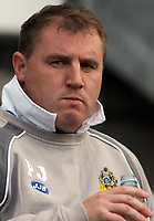 Photo: Paul Thomas.<br /> Wigan Athletic v Aston Villa. The Barclays Premiership. 19/11/2006.<br /> <br /> Paul Jewell, Wigan manager.