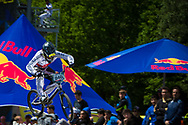#848 (MCBRIDE Daniel) GBR at the UCI BMX Supercross World Cup in Papendal, Netherlands.