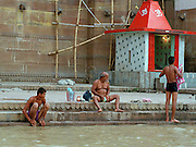 Morning Ritual - Varanasi Ghats