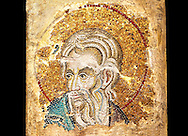 14th Century Mosaic of the profet Isaia from the Zen Chapel  of the  Basilica San Marco ( St Mark's Basilica ) Venice, Italy