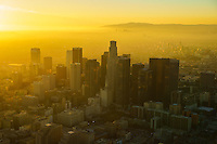 Downtown LA, Wilshire Corridor & Century City Skylines @ Sunset