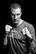 """Now a member of CrossFit's training team, former UFC fighter Jason MacDonald still remembers """"the pose""""."""
