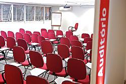 Auditório no ADC Bradesco Esporte e Educação, em Osasco. FOTO: Jefferson Bernardes/Preview.com