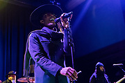 WASHINGTON, DC - February 8th, 2020 - Raphael Saadiq performs at the 9:30 Club in Washington, D.C.  Saadiq released his latest album, Jimmy Lee, in August 2019. (Photo by Kyle Gustafson / For The Washington Post)