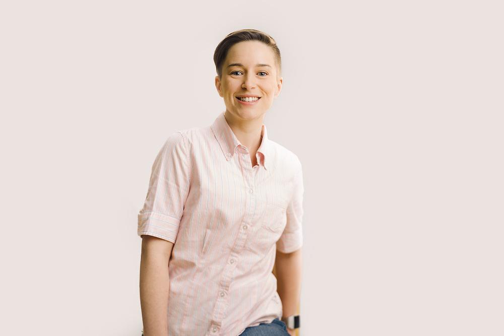Portrait of Amanda Queene.