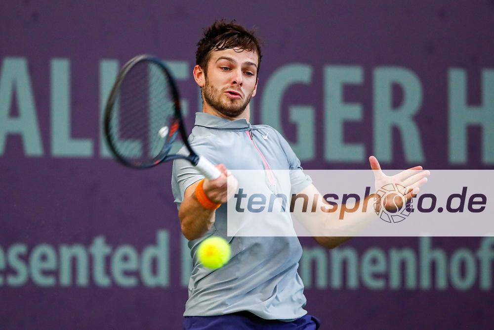 STODDER, TIMO (GER) Ranking: PRO 1055 bei den FUTURE NORD - ITF World Tennis Tour - M25 am 22.10.2020 in Hamburg (Hamburger Tennisverband), Deutschland , Foto: Mathias Schulz