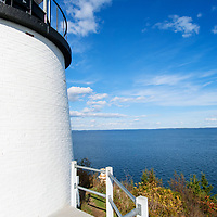 Location West Penobscot Bay, entrance to Rockland Harbor.  Lighthouse established in 1825