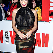 Jade Ewan Arrivals at Pretty Woman The Musical press night at Piccadilly Theatre on 2nd March 2020, London, UK.