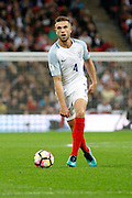 England Midfielder Jordan Henderson during the FIFA World Cup Qualifier match between England and Malta at Wembley Stadium, London, England on 8 October 2016. Photo by Andy Walter.