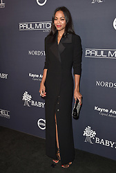 2017 Baby2Baby Gala. 3Labs, Culver City, California. Pictured: Byron Allen and Jennifer Lucas. EVENT November 11, 2017. 11 Nov 2017 Pictured: Zoe Saldana. Photo credit: AXELLE/BAUER-GRIFFIN / MEGA TheMegaAgency.com +1 888 505 6342