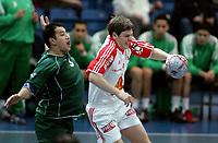 Håndball, Stavanger, Elfag Cup, 16/01-05,<br /> Algerie - Sveits,<br /> Marco Kurth,<br /> Foto: Sigbjørn Andreas Hofsmo, Digitalsport