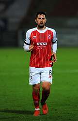 Chris Clements of Cheltenham Town- Mandatory by-line: Nizaam Jones/JMP - 28/11/2020 - FOOTBALL - Jonny-Rocks Stadium - Cheltenham, England - Cheltenham Town v Crewe Alexandra - Emirates FA Cup second round