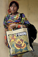 Panama - Indienne Kuna à Panama City