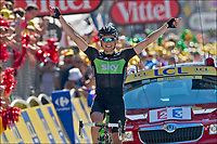 Sykkel<br /> Tour de France 2011<br /> 20.07.2011<br /> Foto: PhotoNews/Digitalsport<br /> NORWAY ONLY<br /> <br /> 17th stage / Gap - Pinerolo<br /> <br /> HAGEN Edvald Boasson (SKY PROCYCLING - NOR)