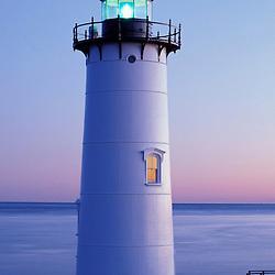 Portsmouth Light.  Fort Constitution.  Piscataqua River.  Atlantic Ocean.  New Hampshire seacoast.  New Castle, NH