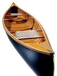 Wooden Canoe