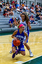 21 June 2014: Laura Crane (13) , 2014 Girls Illinois Basketball Coaches Association All Start game at the Shirk Center in Bloomington IL