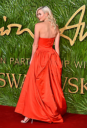 Karlie Kloss attending the Fashion Awards 2017, in partnership with Swarovski, held at the Royal Albert Hall, London. Picture Date: Monday 4th December, 2017. Photo credit should read: Matt Crossick/PA Wire