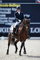 Vasaryova Hana, CZE, David Du Plessis-Belliere<br /> Longines FEI/WBFSH World Breeding Dressage Championships for Young Horses - Ermelo 2017<br /> © Hippo Foto - Dirk Caremans<br /> 04/08/2017
