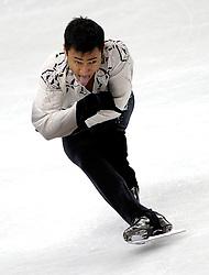 23.03.2010, Torino Palavela, Turin, ITA, ISU World Figure Skating Championships Turin 2010 im Bild Florent Amodio (FRA).., Männer Kurzprogramm, EXPA Pictures © 2010, PhotoCredit: EXPA/ InsideFoto/ Perottino / SPORTIDA PHOTO AGENCY