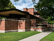 Frank Lloyd Wright's Frederick C. Robie House in Hyde Park