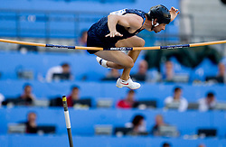 Brad Walker of USA competes in the men's pole vault qualifying event  during day six of the 12th IAAF World Athletics Championships at the Olympic Stadium on August 20, 2009 in Berlin, Germany. (Photo by Vid Ponikvar / Sportida)