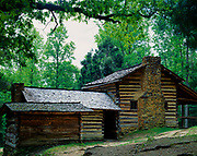 Elijah Oliver Place, Cades Cove, Great Smoky Mountains National Park, Tennessee.