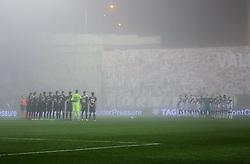 December 23, 2018 - Madrid, Madrid, SPAIN - Silent minute during La Liga Spanish championship, , football match between Rayo Vallecano and Levante, December 23, in Vallecas Stadium, Madrid, Spain. (Credit Image: © AFP7 via ZUMA Wire)