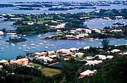 Harbor view of Little sound, South Hampton Parish, Bermuda