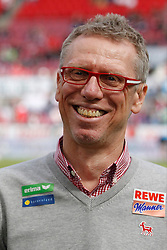 12.04.2015, RheinEnergieStadion, Köln, GER, 1. FBL, 1. FC Köln vs TSG 1899 Hoffenheim, 28. Runde, im Bild Trainer Peter Stoeger (1. FC Koeln) // during the German Bundesliga 28th round match between 1. FC Cologne and TSG 1899 Hoffenheim at the RheinEnergieStadion in Köln, Germany on 2015/04/12. EXPA Pictures © 2015, PhotoCredit: EXPA/ Eibner-Pressefoto/ Schüler<br /> <br /> *****ATTENTION - OUT of GER*****