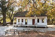 Original slave quarters at Middleton Place Plantation in Charleston, South Carolina.