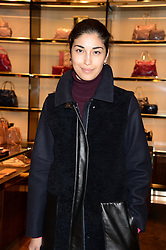 CAROLINE ISSA at a party hosted by Gucci & Clara Paget to drink a new cocktail 'I Bamboo You' held at Gucci, 34 Old Bond Street, London on 16th October 2013.