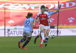February 23, 2019 - Sheffield, England, United Kingdom - Arsenal under pressure during the second half in the  FA Women's Continental League Cup Final  between Arsenal and Manchester City Women at the Bramall Lane Football Ground, Sheffield United FC Sheffield, Saturday 23rd February. (Credit Image: © Action Foto Sport/NurPhoto via ZUMA Press)