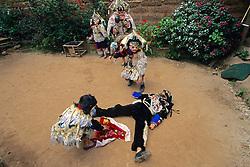 Todos Santos Festival - Children Acting