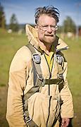 Veteran smoke jumper at McCall smokejumper base in McCall, ID.