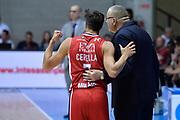 DESCRIZIONE : Desio Lega A 2015-16 Semifinale Play Off Gara 2 Olimpia EA7 Emporio Armani Milano Umana Reyer Venezia<br /> GIOCATORE : Bruno Cerella Jasmin Repesa<br /> CATEGORIA : Coach Fair play<br /> SQUADRA : Olimpia EA7 Emporio Armani Milano<br /> EVENTO : Campionato Lega A 2015-2016 Semifinale play off Gara 2<br /> GARA : Olimpia EA7 Emporio Armani Milano Umana Reyer Venezia <br /> DATA : 21/05/2016 SPORT : Pallacanestro AUTORE : Agenzia Ciamillo-Castoria/I.Mancini Galleria : Lega Basket A 2015-2016 Fotonotizia : Desio Lega A 2015-16 Semifinale Play Off Gara 2 Olimpia EA7 Emporio Armani Milano Umana Reyer Venezia