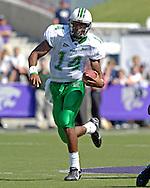 Marshall quarterback Bernard Morris rushes up field against Kansas State at Bill Snyder Family Stadium in Manhattan, Kansas, September 16, 2006.  The Wildcats beat the Thundering Herd 23-7.