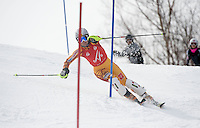 NorAms Slalom runs at Waterville Valley, NH March 18, 2010.